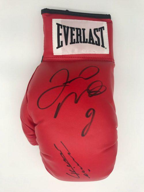 Floyd Mayweather Memorabilia Signed Boxing Gloves
