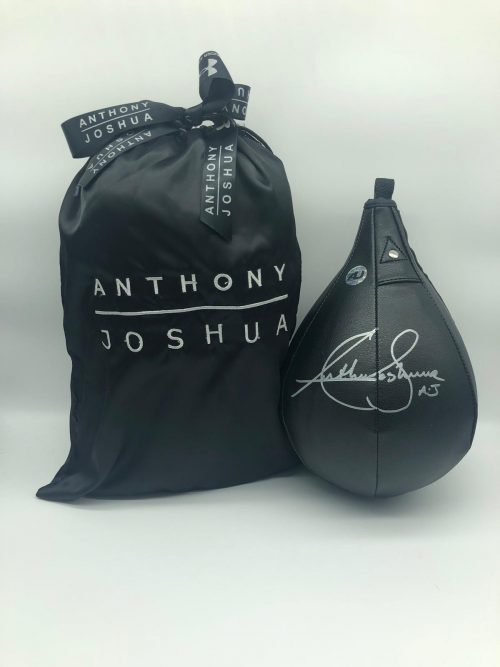 Anthony Joshua Black Punch Ball